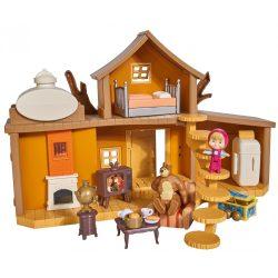 Mese figurák - Mese szereplők - Masha és a Medve játékszett Nagy maciház