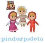 Műanyag babák - Barbie babák - Masha puhatestű baba 23cm többféle változatban