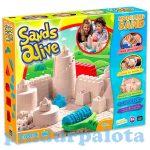 Kreatív hobby - Gyurmák - Modellező homok királyi kastély