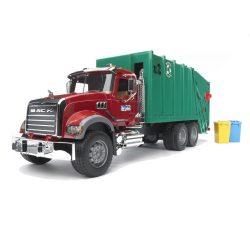 Műanyag járművek - Bruder MACK Granite szemetes autó
