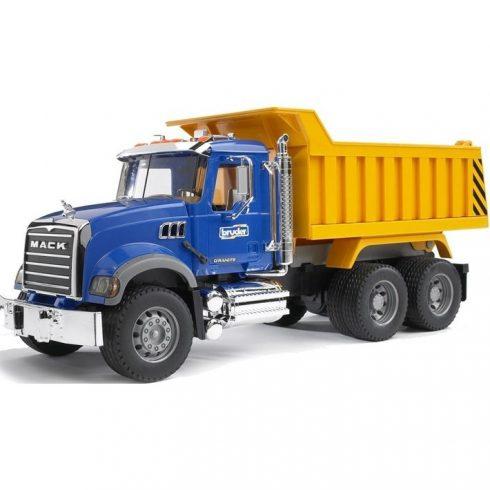Műanyag járművek - Bruder MACK billenőplatós teherautó