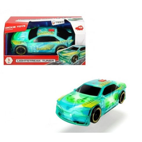 Műanyag járművek - Világítós versenyautó Lightstreak Tuner