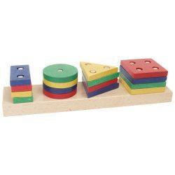 Montesszori játékok - Mértani formalap I.