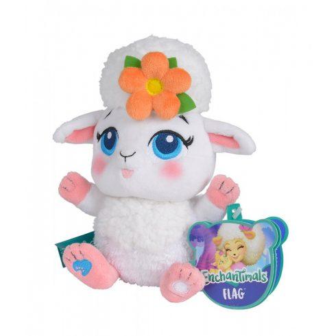 Plüssállatok - Plüss mesefigurák - Enchantimals Sheep Flag Bárány plüss 35 cm