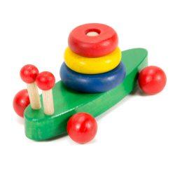 Ügyességi játékok - Montesszori csiga