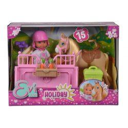 Műanyag babák - Evi Love Játékbaba, Holiday Horse