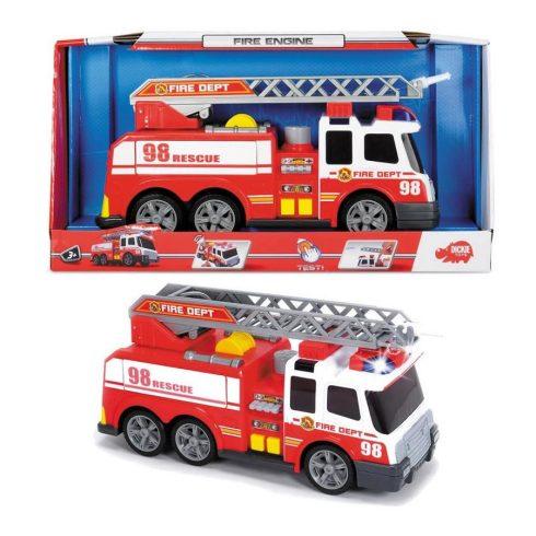 Műanyag járművek - Tűzoltó autó Dickey Toys Funkciós
