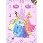 Kreatív hobby - Kifestők - Disney Hercegnő színező
