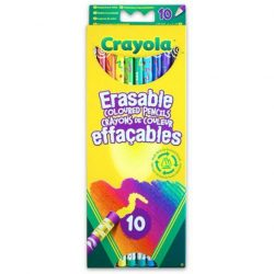 Írószerek - Színesceruza radírvégű 10db-os Crayola