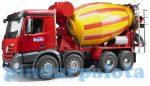 Műanyag járművek - Bruder Mercedes-Benz Arocs betonkeverő