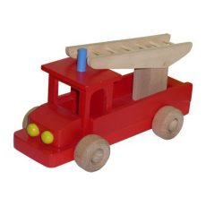 Színes tűzoltóautó - Kicsi méretben
