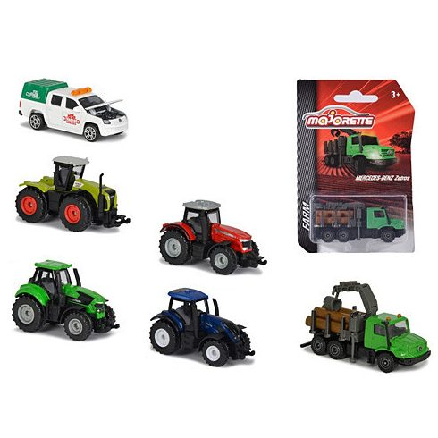Játék autók - Autós játékok - Majorette farm járművek