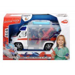 Műanyag járművek - Mentőautó felszereléssel Dickie Toys