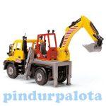 Műanyag járművek - Útjavítás Autó játékszett Road Service Dickie toys