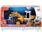 Műanyag járművek - Homlokrakodó Air Pump Dickie Toys