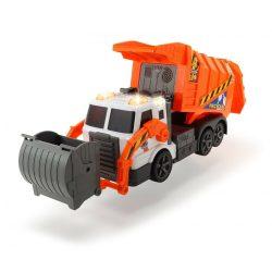 Szemetesautók - Kukás narancssárga 46cm Dickie Toys