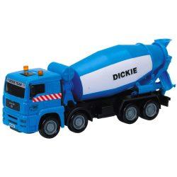 Járművek - Műanyag játékautók - Mixer kocsi Betonkeverő, Dickie