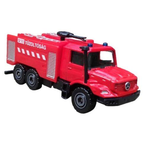 Járművek - Tűzoltósági mentőautó játék