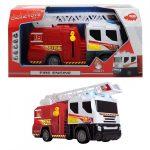 Műanyag járművek - Tűzoltóautó 30cm