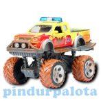 Játék autók - Autós játékok - Rally Monster Truck sárga autó Dickie Toys Action