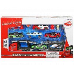 Műanyag járművek - Dickie autószállító kamion