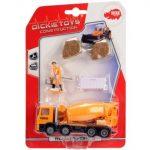 Műanyag járművek - Útfelújító gépjármű Dickie játékautó kiegészítőkkel