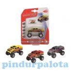 Járművek - Játékautók - Dirt monster Dickie Toys