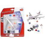 Játék járművek - Repülőtér repülővel Airport Team Dickie