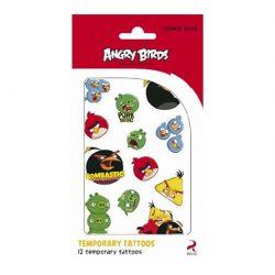 Matricák gyerekeknek - Tetkó matrica Angry Birds