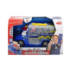 Műanyag járművek - Rendőrségi autó felszereléssel Dickie Toys