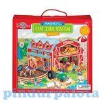 Ügyességi játékok - Úti mágneses kirakó farm