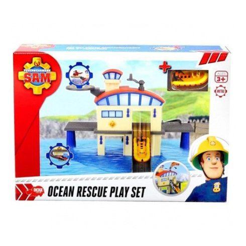 Sam a tűzoltó játékok gyereknek - Tengeri mentőállomás