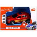 Műanyag járművek - SOS Cars Tűzoltóautó Dicki Toys