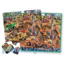Ügyességi játékok - Úti mágneses kirakó munkagépek TS-Shure