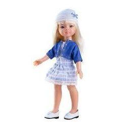 Játékbabák - Játékbaba hajas baba Manica Paola Reina
