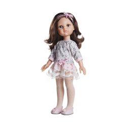 Játékbaba- Hajas baba Carol 32 cm Paola Reina