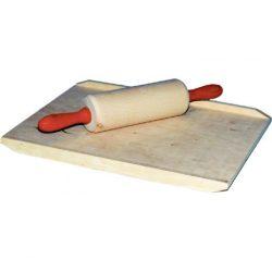 Játék konyhák - Edények - Játék élelmiszerek - Gyúrótábla sodrófával
