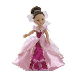 Játékbaba- Hajas baba Carol hercegnő Fuxia Paola Reina
