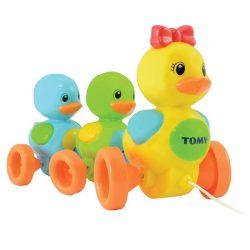 Fejlesztő játékok - Bébi játékok - Húzható kacsák Tomy