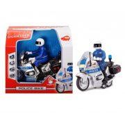 Műanyag járművek - Rendőrségi játék motor 15 cm Dickie Toys Simba