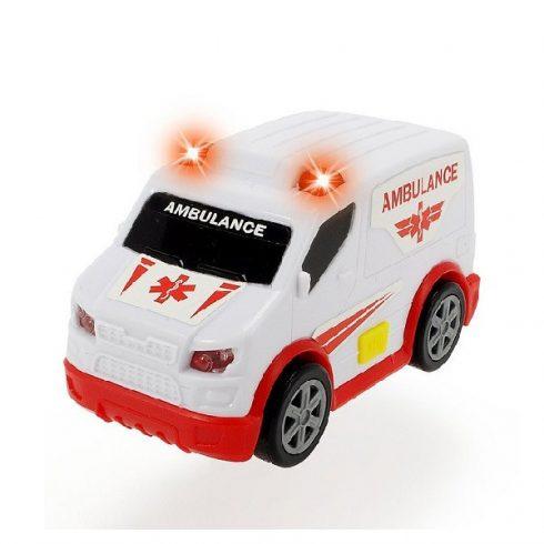 Műanyag járművek - Mentőrautó Rescue Force fénnyel és hanggal
