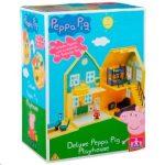 Lányos játékok - Peppa delux házikó