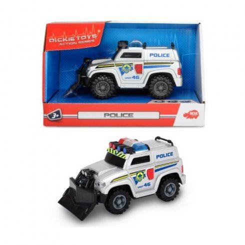 Műanyag járművek - Rendőrautó, Mini Police 15cm, Action Series Dickie Toys