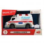 Játék autók - Autós játékok - Mentőautó Mini Police 15cm Action Series Dickie Toys