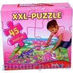 Egyszerű Puzzle kirakó - Óriás puzzle hercegnős