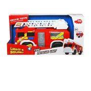 Műanyag járművek - Létrás tűzoltóautó fénnyel, és hanggal - Dickie Toys