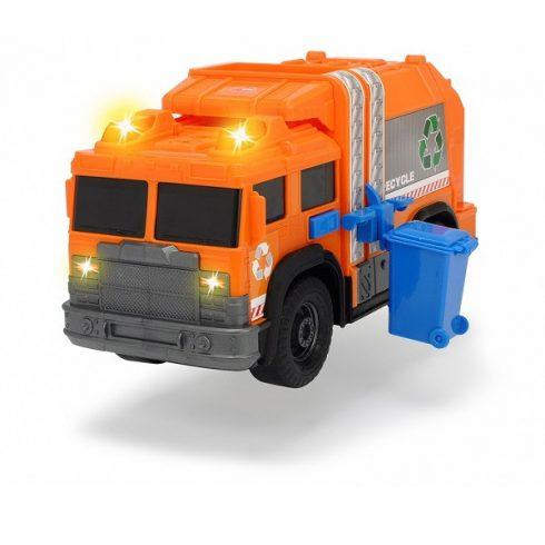 Műanyag járművek - Dickie Toys Recycle kukásautó fénnyel és