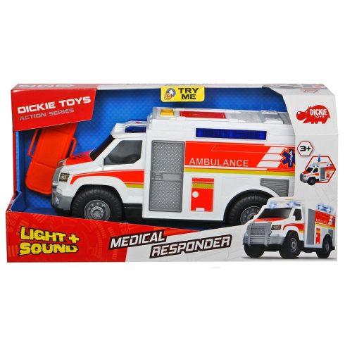 Műanyag játékautók - Dickie toys medical responder mentőautó