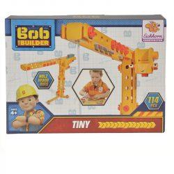 Konstrukciós fa játékok - Bob a mester daru fa építőjáték Constructor Kran Tiny