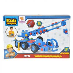 Konstrukciós fa játékok - Bob a mester darusautó fa építőjáték Constructor Lofly